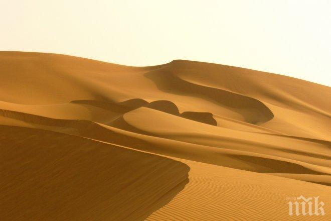 Пясък от Сахара връхлита България