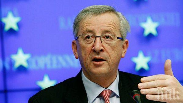 Юнкер: В Европа не е време за разделение