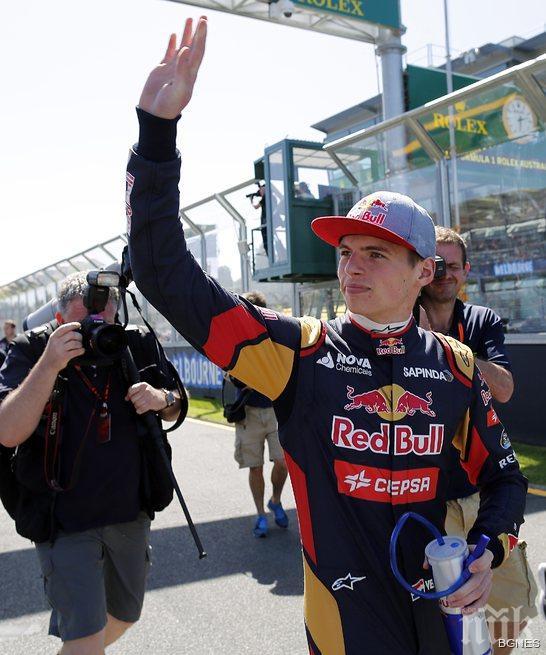 Макс Верстапен стана най-младият пилот във Формула 1