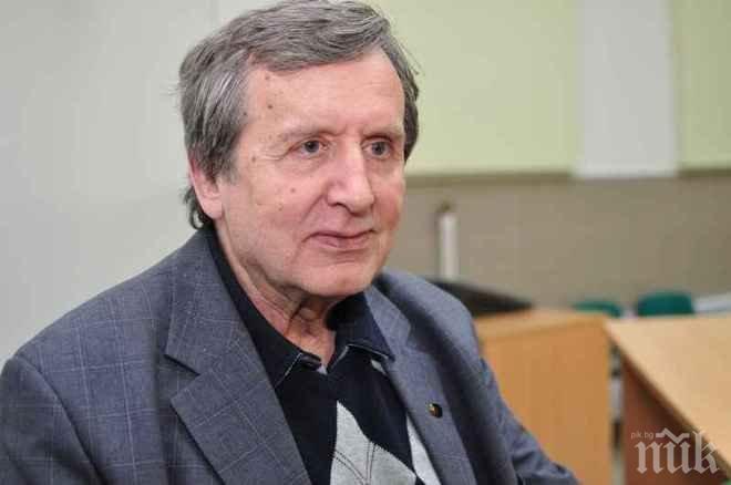 Акад. Георги Марков пред ПИК: Плевнелиев, горкият, се оглежда за втори мандат, затова няма да присъства на парада в Москва