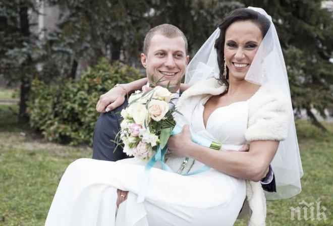 """Невероятна романтика в """"Женени от пръв поглед"""" - младоженците Стефан и Светлана се влюбиха моментално (снимки)"""
