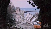 """Рухналият хотел """"Вероника"""" остави 12 деца без бащи, роднините на загиналите зоват кмета за помощ"""