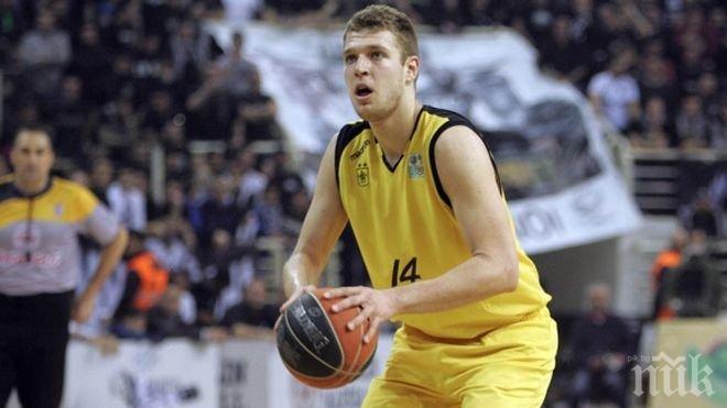 Александър Везенков се включва в драфта на НБА