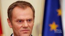 Туск: Изпращането на военна мисия в Украйна е невъзможно