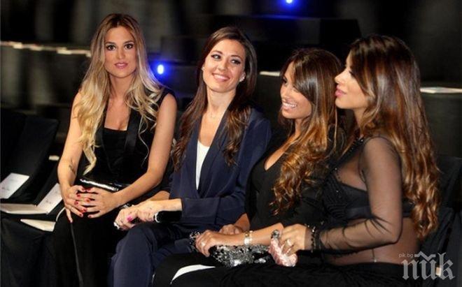 Шоу! Жените на Барселона загряха за Байерн с ревю