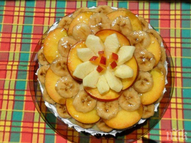 Домашна плодова торта