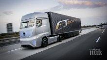 Първият самоуправляващ се камион потегли по пътищата на щата Невада