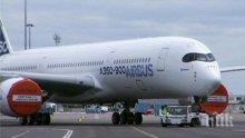 """""""Еърбъс"""" с 330 пътници ще кацне аварийно в Лос Анджелис"""