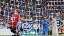 """Страшна драма! Черно море изравни на """"Левски"""" в последната минута! Предстоят продължения (обновена)"""