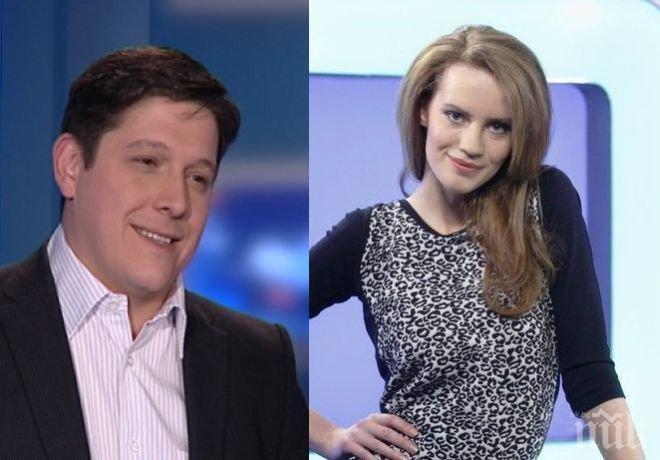 Нещастна любов в Нова телевизия! Богомил Грозев влюбен в Гергана Малкоданска