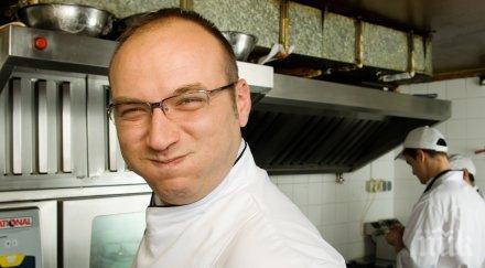 Кулинарният хит на шеф Манчев! Вижте сладкото му изкушение