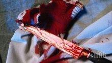 Пиян син едва не закла майка си, брат му изтръгна ножа от ръцете му