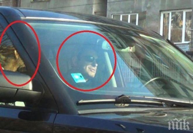 Папараци щракнаха Елена Кучкова с гаджето й политик, след като той я изгони от дома си