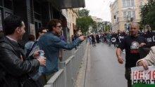 Полицаи спасиха актьора Явор Бахаров от гнева на анти-гей парада