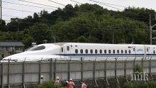 Двама загинали след самозапалване във влак-стрела в Япония