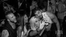 """Николета купонясва здраво с Андреа, Фики и Тони Сторато в """"Клуб 33"""" (снимки)"""