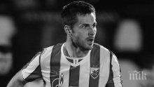 Бивш футболист на Цървена звезда почина на тренировка в Китай