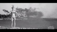 Гръцка моделка лъсна гола в клип на българин. Стилистите на Мадона и Лопез го обличат (снимки и видео)