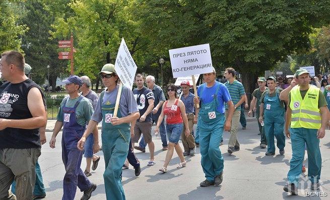 Бизнесът в Разград протестира срещу повишаване на цената на тока