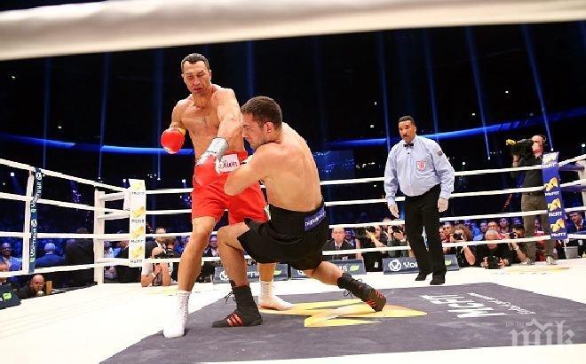 Съперник на Кличко: Пулев е глупак с вдигнати ръце