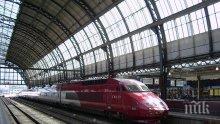 Високоскоростен влак уби мъж и дете</p><p>