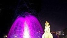 Пловдивските пеещи фонтани позеленяха! Ззапочват да ги чистят