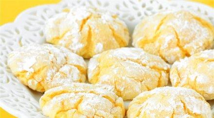 Бързи лимонови курабийки