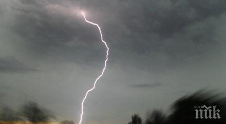 жегата потоп жълт код цяла българия поройни дъждове бури идват градушки