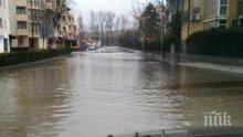 "ПИК TV: Ремонтираното ""Цариградско шосе"" се наводни при Горубляне"