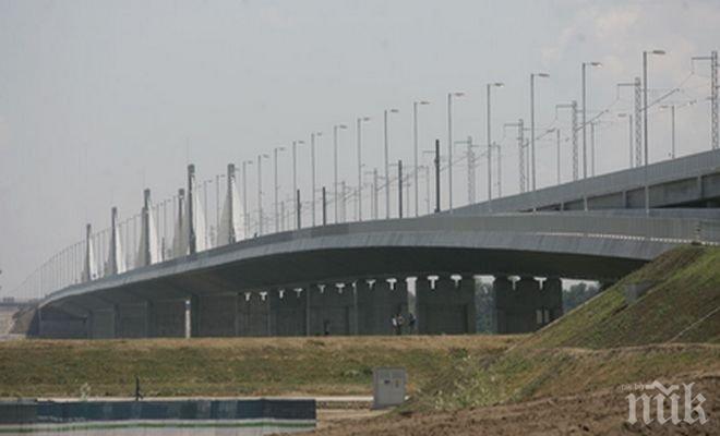 Преминаването през ГКПП Дунав мост Русе е затруднено заради ремонт