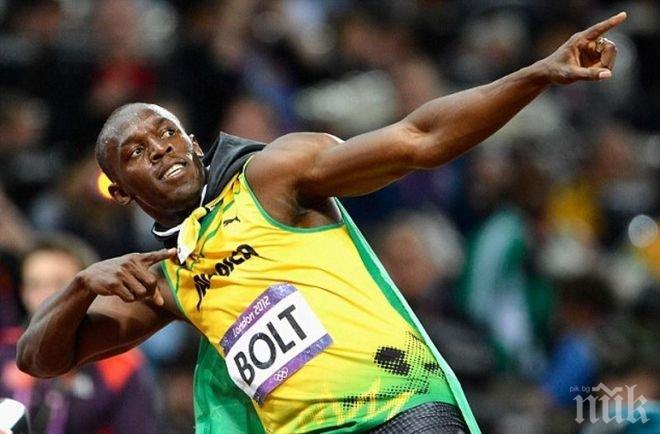 Юсейн Болт отново №1 в света на 100 метра