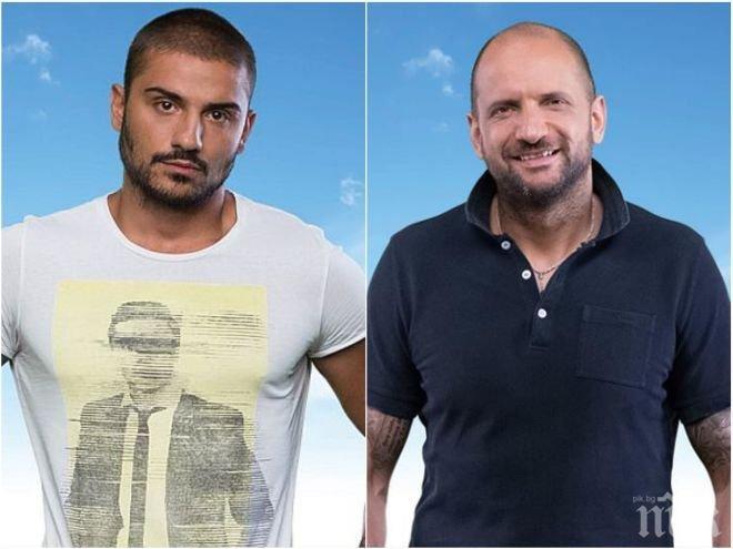 """Гей афера в """"Биг брадър""""? Зрителите са в шок: Какво направиха Цецо и Богданов помежду си?!"""