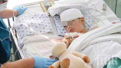 Инцидент! Внуче на кметица от Сандански с комоцио след падане от колело
