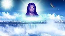 Христос слиза на Кръстова гора през звезден портал