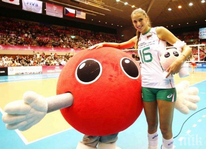 Разкриха бъдещето на Елица Василева - ето къде капитанката на волейболистките ще играе през новия сезон...