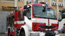 Тролей пламна в София