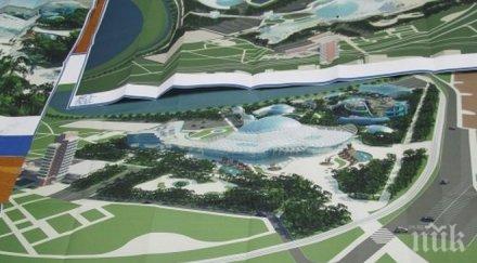 строят океанариум бургас