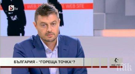 Бареков: Борисов попадна в капана на Меркел