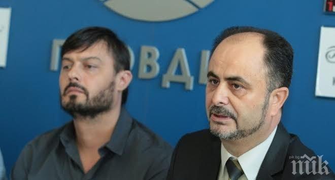 Компетентно и честно управление за Пловдив иска кандидатът на ББЦ Атанас Панчов