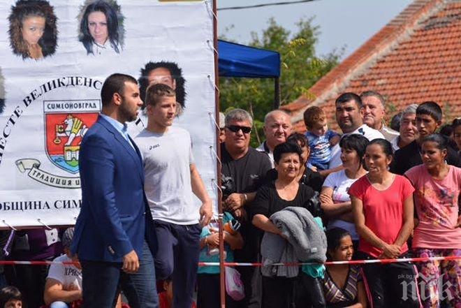 Борислав Иглев: Подпомагам с лични средства младите таланти в борбата, защото те ще донесат спортна слава на България