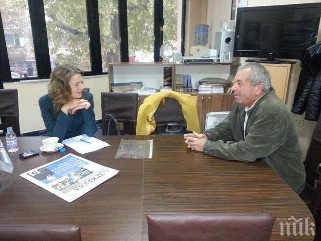 Народният представител от ГЕРБ Милена Дамянова проведе приемен ден за граждани в Силистра