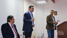 Кандидатът за кмет на София проф. Михаил Мирчев: БСП е патриотична партия и подкрепя каузата на тракийските бежанци