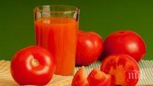 Какво ще стане, ако 60 дни пиете доматен сок