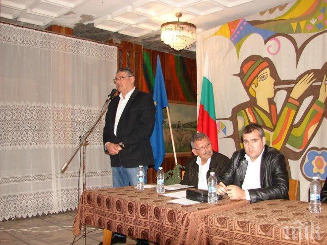 Цветан Антов се срещна с жители на Славяново