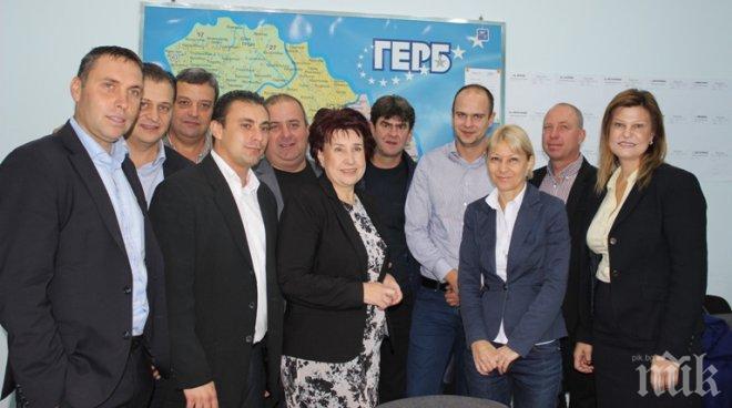Вяра Церовска, кандидат на ГЕРБ за кмет на Перник: Оценката за нашата работа я дадоха гласоподавателите