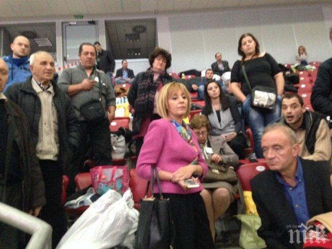 """БОМБА в ПИК! Мая Манолова сензационно пред медията ни: Има голяма опасност да се повтори хаоса в """"Арена Армеец"""", ако протоколите се приемат в зала 3 на НДК!"""