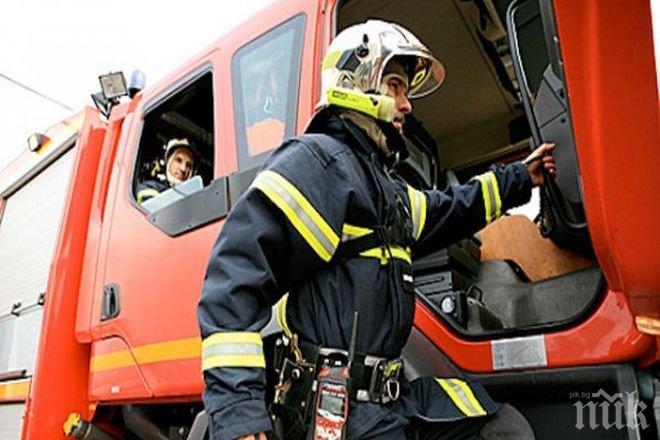 Късо съединение предизвика пожар в Русе