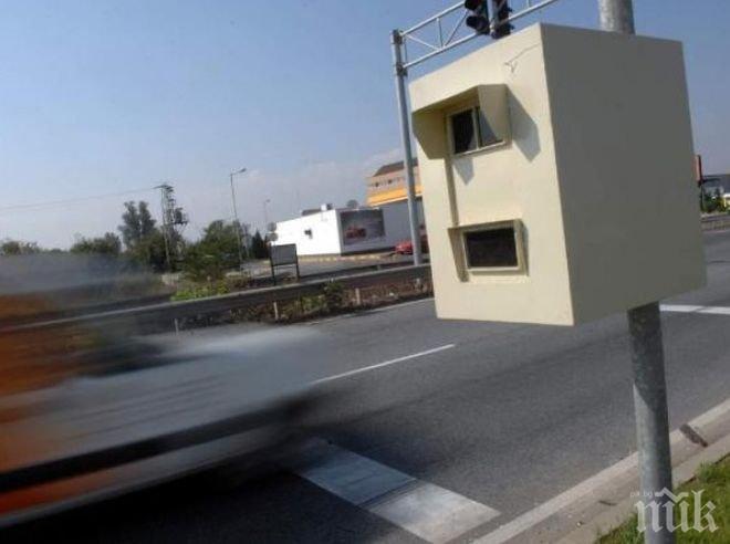 Новите камери на магистралата не засичат скорост, само броят трафика
