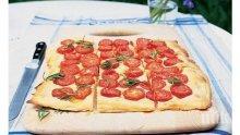 Бърза домашна пица