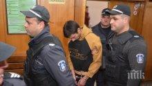 Вижте убиеца на Симона, съдът го остави в ареста (снимки)